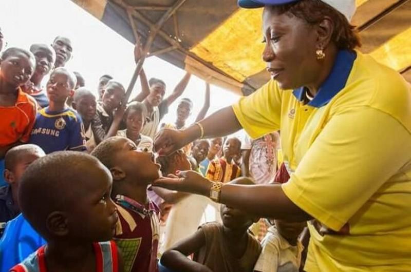 La lutte contre la poliomyélite en Afrique