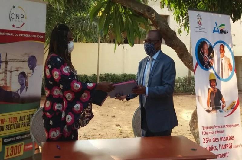 Un contrat de partenariat entre CNP et ANPGF