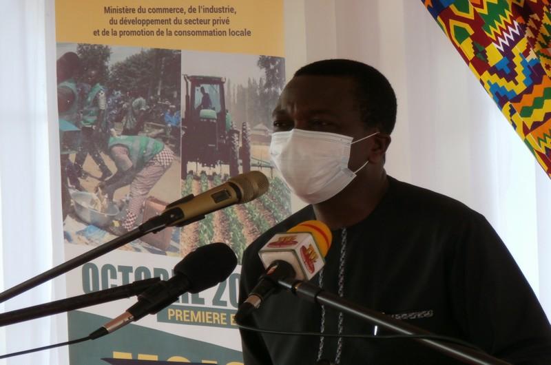 Le ministre Kodjo Adedze